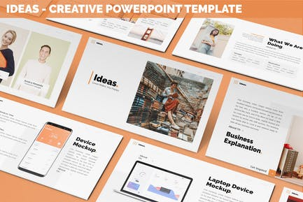 Ideas - Creative Powerpoint Template
