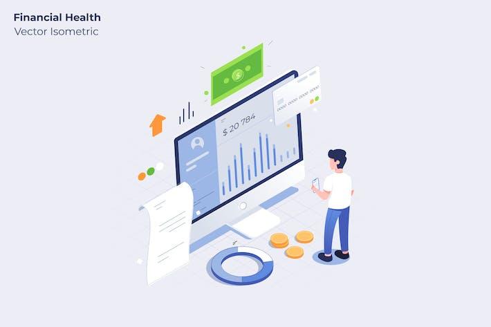 Thumbnail for Financial Health - Vector Illustration