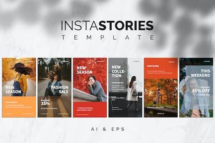 """Vorlage """"Insta Storys"""""""