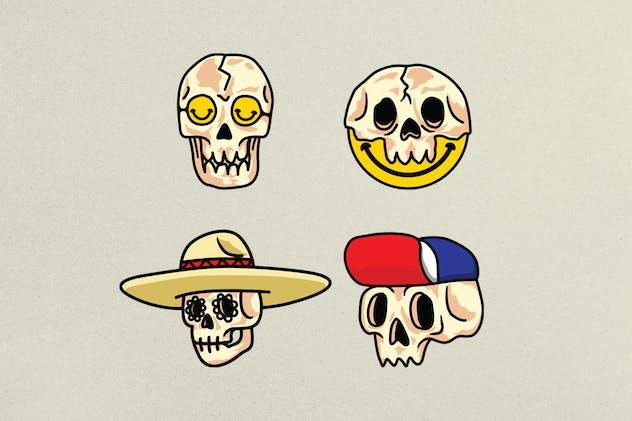 Skull Variations Icon