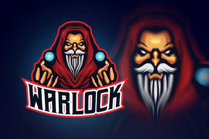 Thumbnail for Evil Warlock Esport Logo