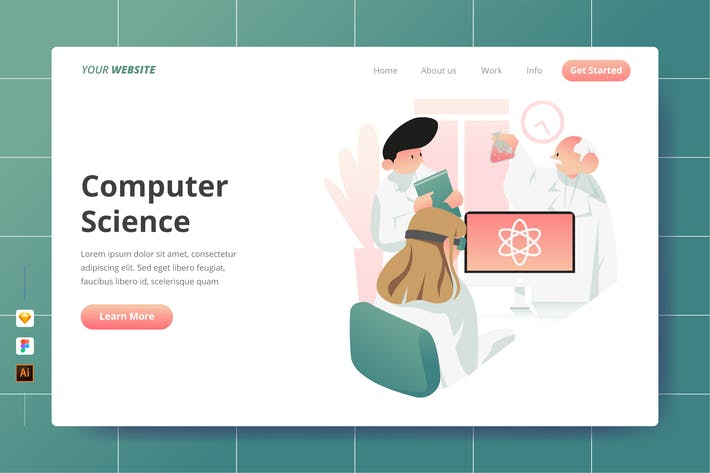 Thumbnail for Computer Science - Landing Page