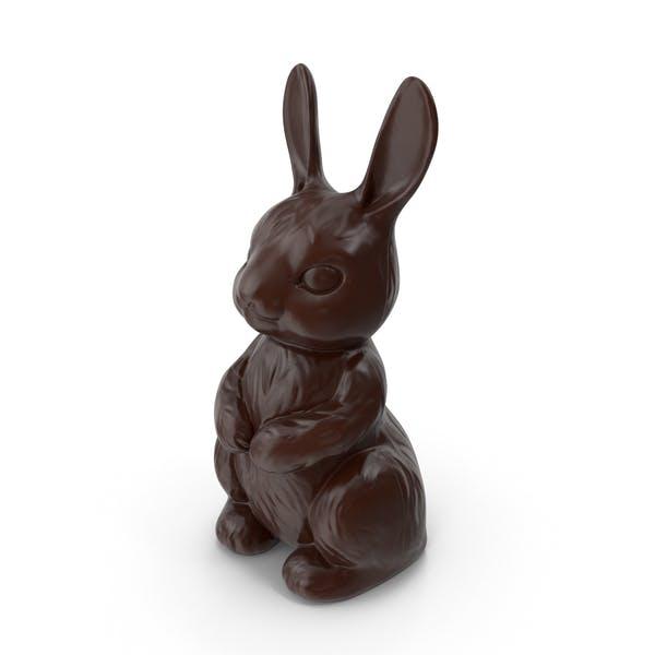 Zartbitterschokolade Häschen