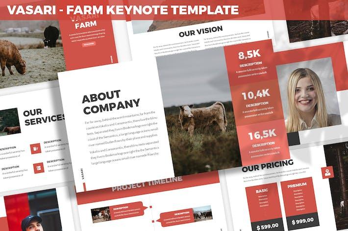 Cover Image For Vasari - Farm Keynote Template