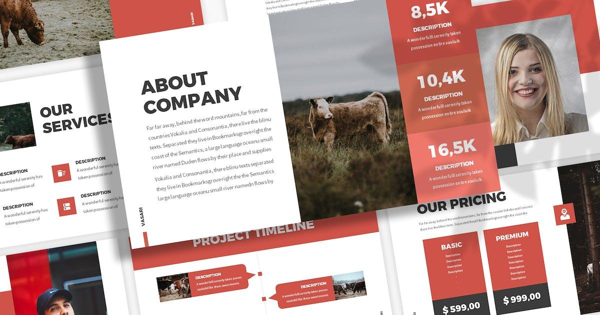 Download Vasari - Farm Keynote Template by SlideFactory