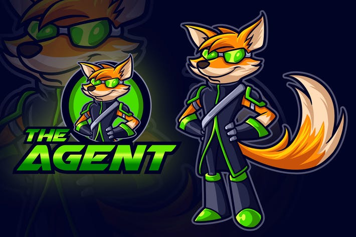 Thumbnail for Fox Agent Mascot Logo