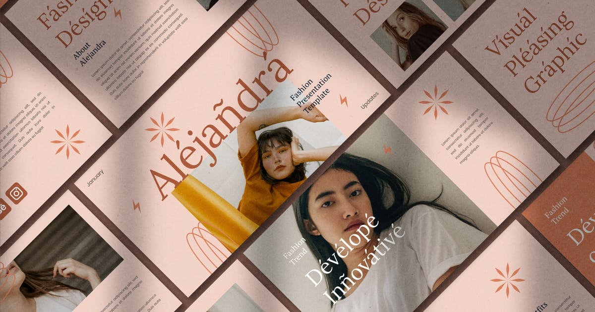 Download Alejandra - Keynote Template by eztudio