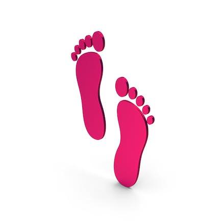 Symbol Footprint Metallic
