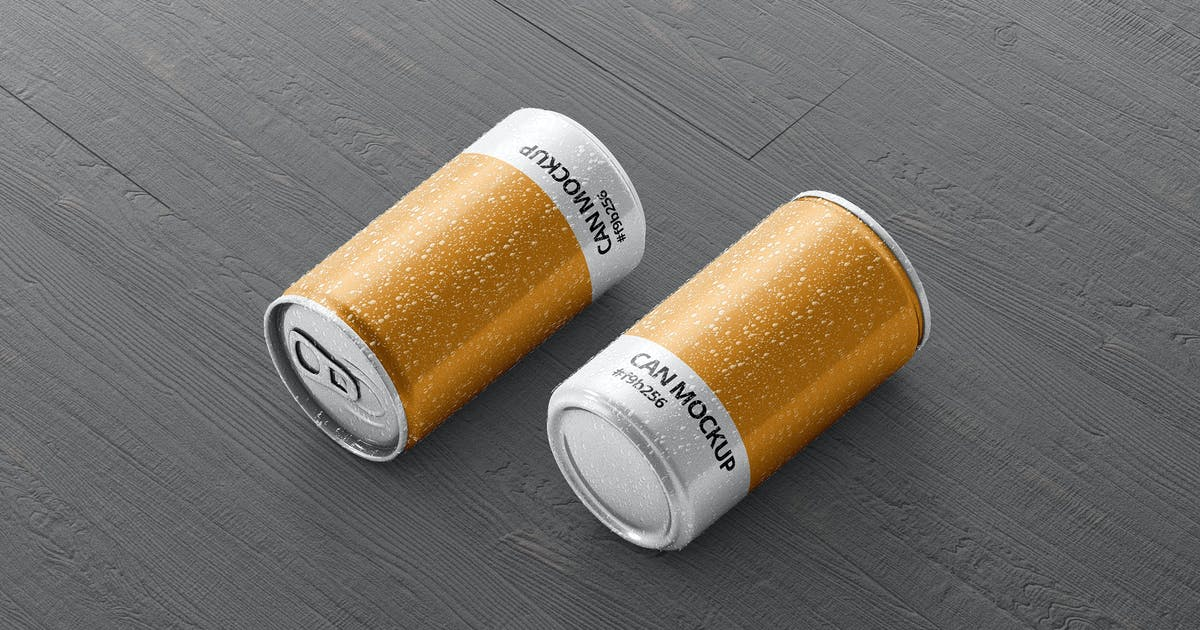 Download Small Drink Can Mock-Up by visconbiz