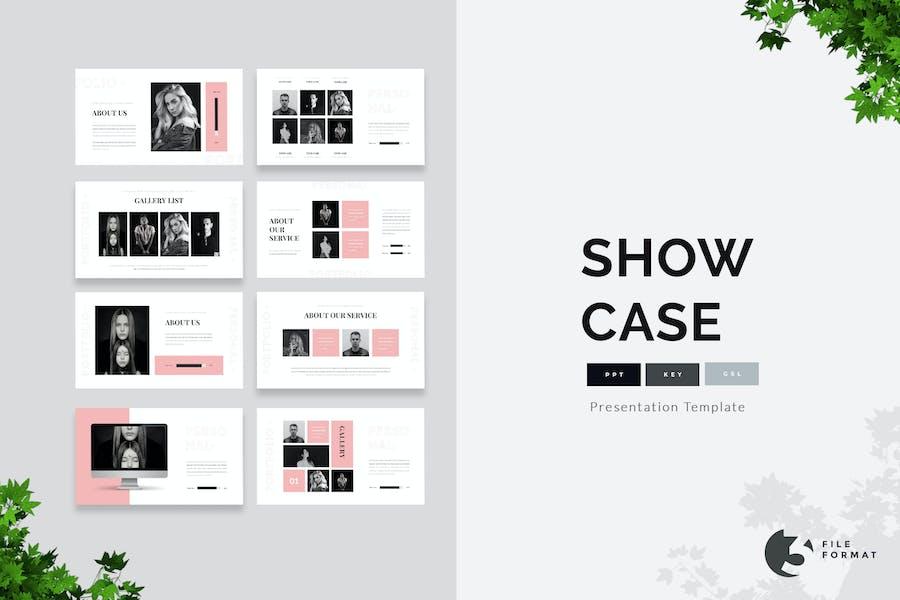 Showcase -Personal Portfolio Presentation Template