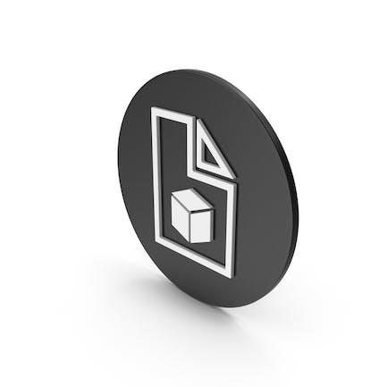 Icono de archivo 3D