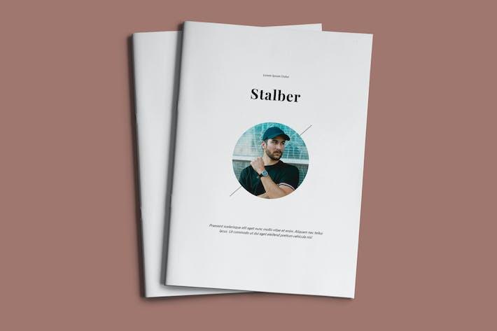 Thumbnail for Stalber - Mehrzweck-Broschüre Business Unternehmens-