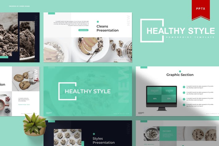 Healthy Style | Powerpoint Template