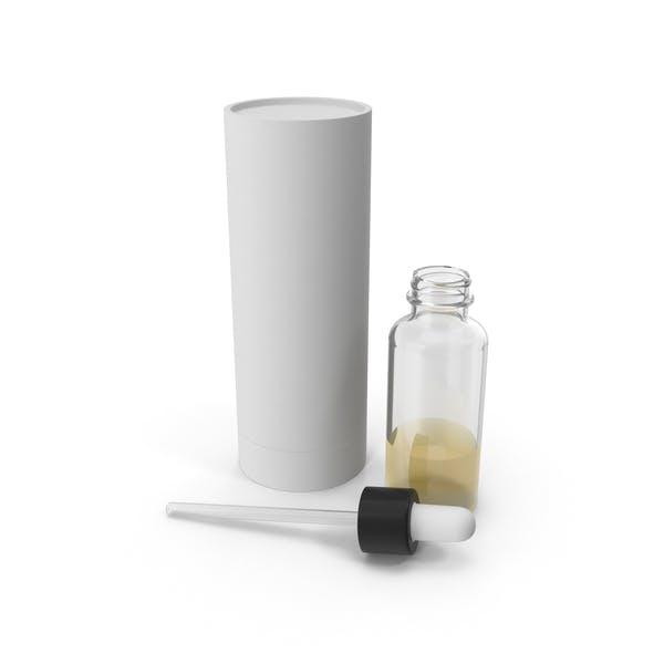 Бутылка капельницы с трубкой