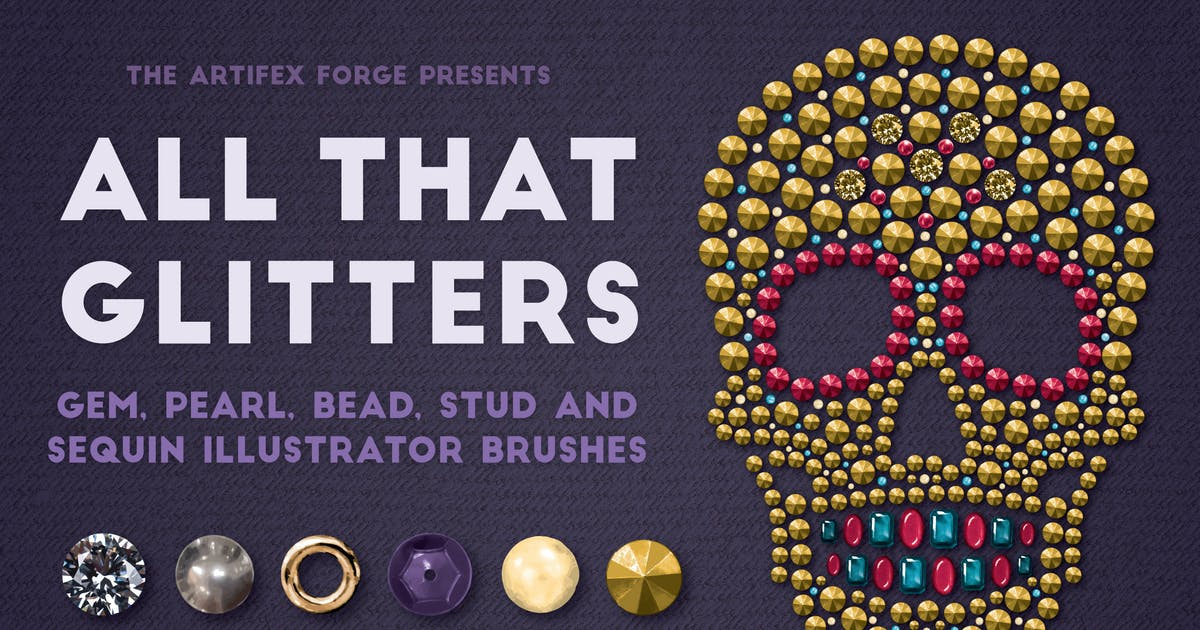 Download All That Glitters - Vector Brushes by JRChild