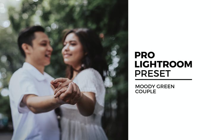 Thumbnail for Moody Green Couple Preset