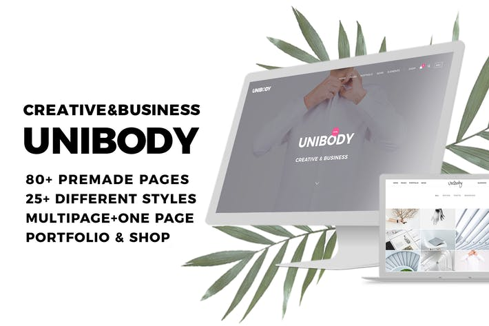 Thumbnail for Unibody - Multipurpose Creative and Business