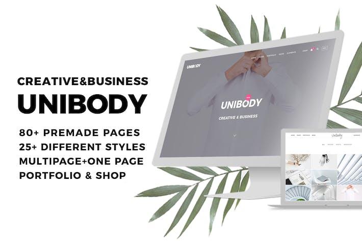 Unibody - Multipurpose Creative and Business