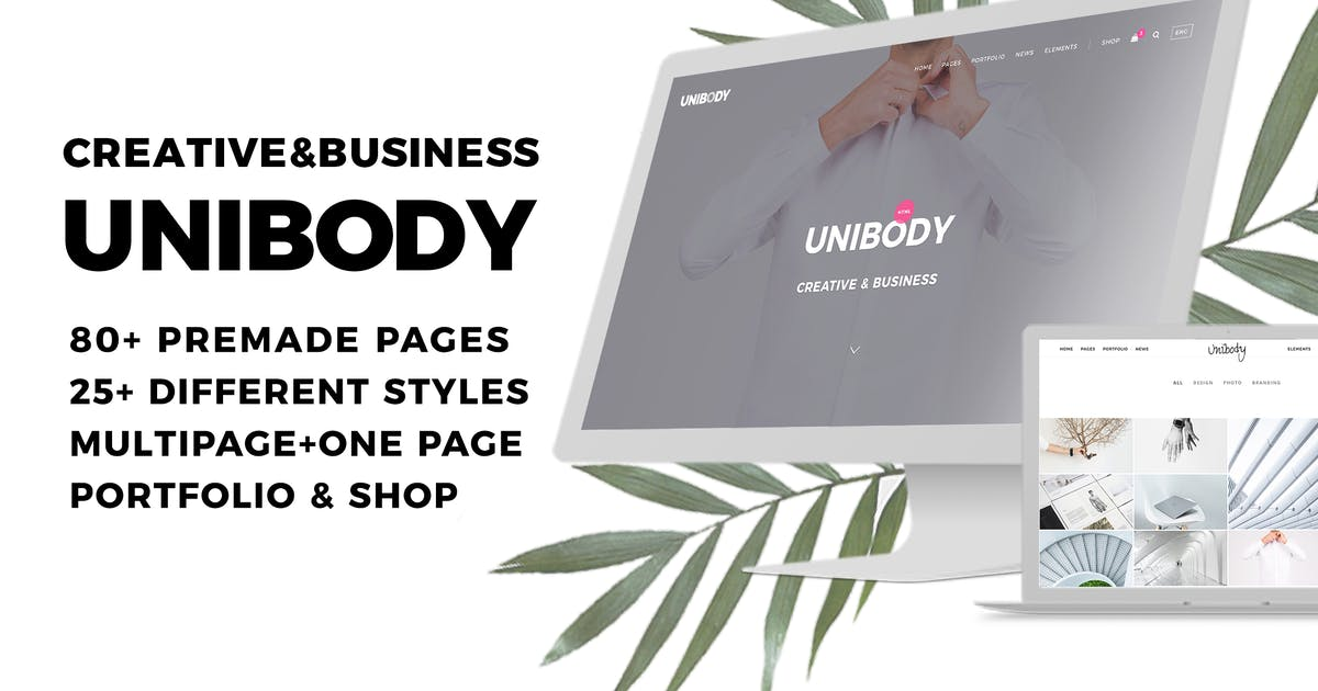 Download Unibody - Multipurpose Creative and Business by ForBetterWeb
