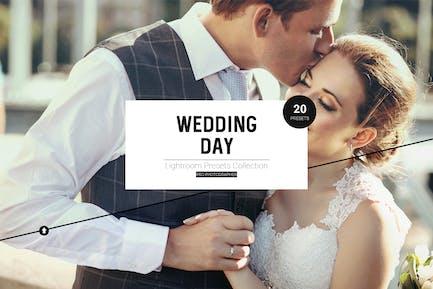 Wedding Day LR Presets