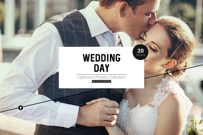 Thumbnail for Wedding Day LR Presets