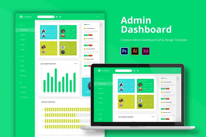 Thumbnail for Cubex Admin Page Template