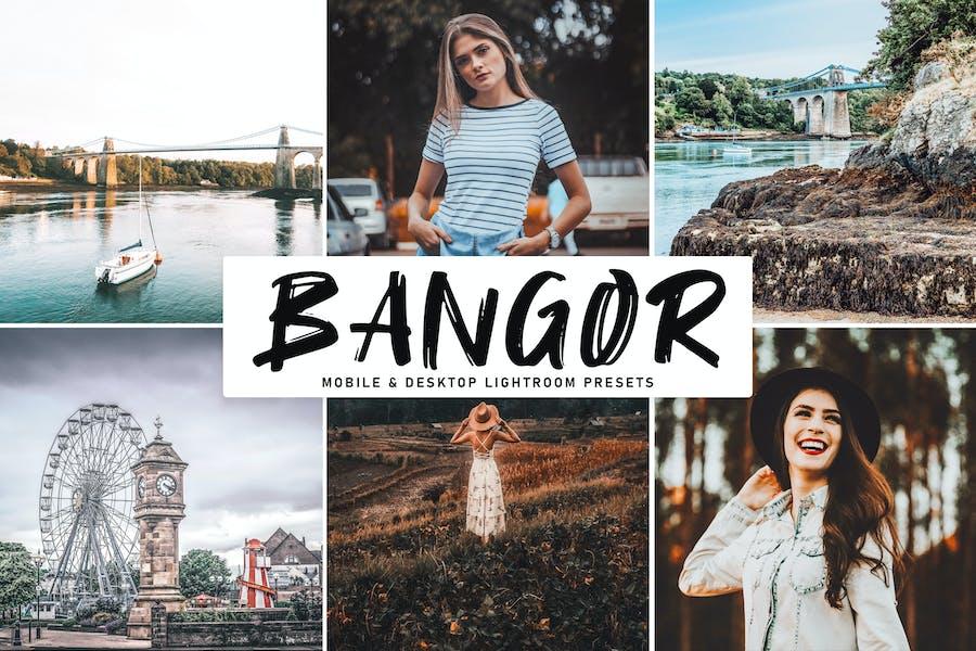 Bangor Mobile & Desktop Lightroom Presets