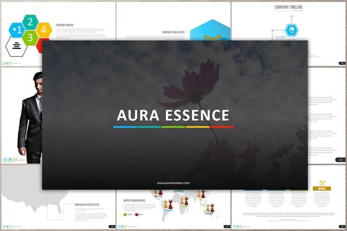 Thumbnail for AURA ESSENCE Google Slides