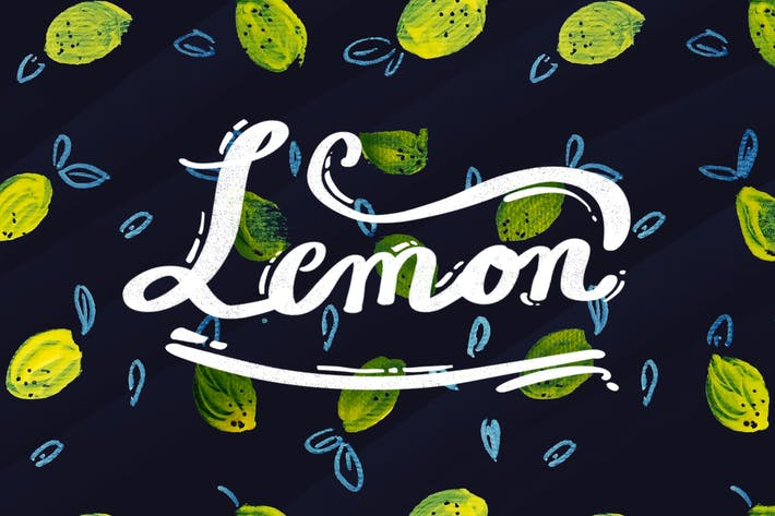 Thumbnail for Lemon - Seamless Pattern