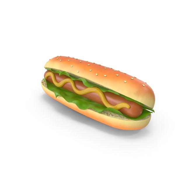 Thumbnail for Cartoon Hot Dog
