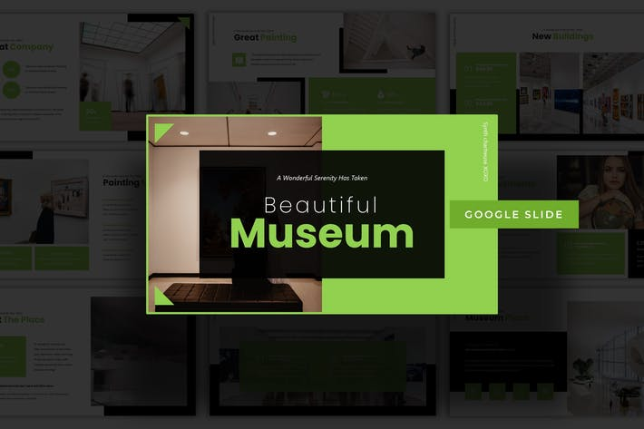 Thumbnail for Beautiful Museum - Google Slide Template