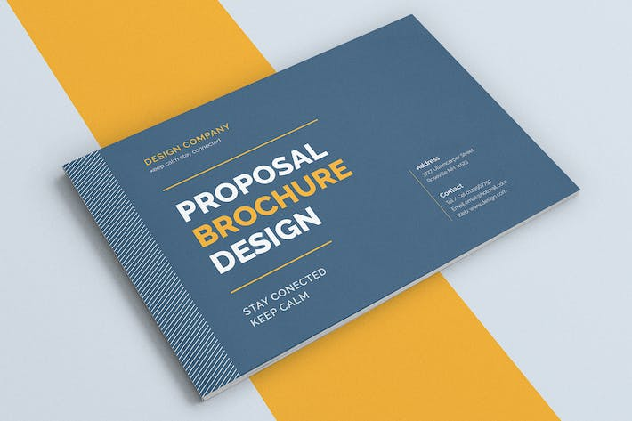 Cover Image For Proposal Brochure Template