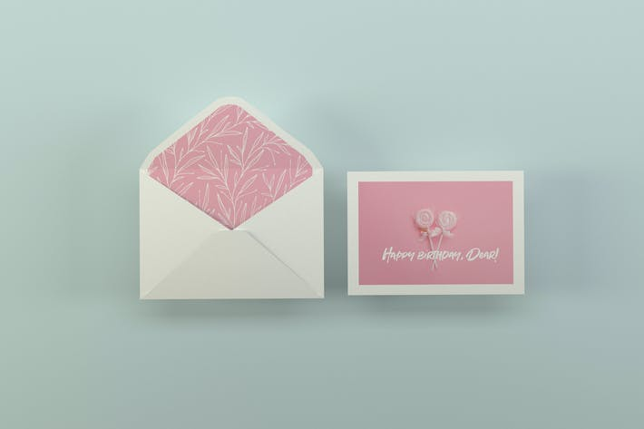 Thumbnail for Greeting Card Mockups