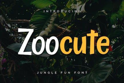 Zoocute Jungle Fun Font