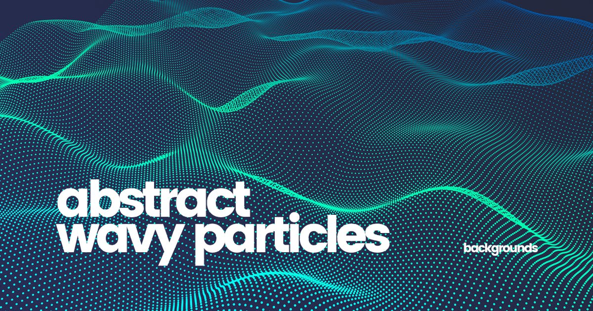 Download Wavy Particles Backgrounds by themefire