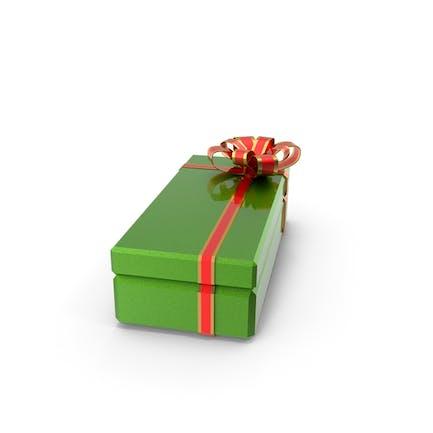 Подарочная коробка Зеленая