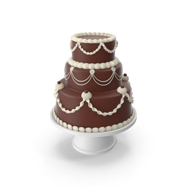 Chocolate Cascade Cake