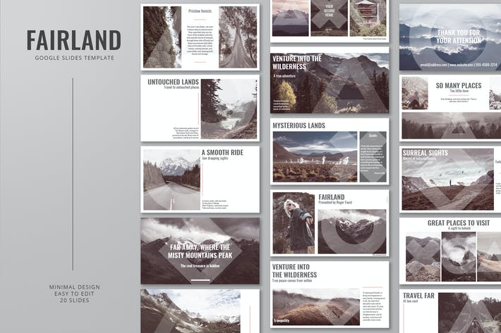 Thumbnail for Fairland Google Slides PräsentationsVorlage