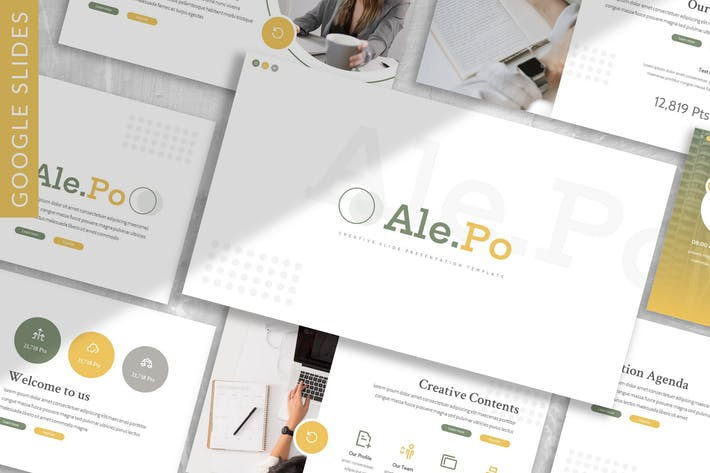 Thumbnail for Ale.po - Business Google Slide Template