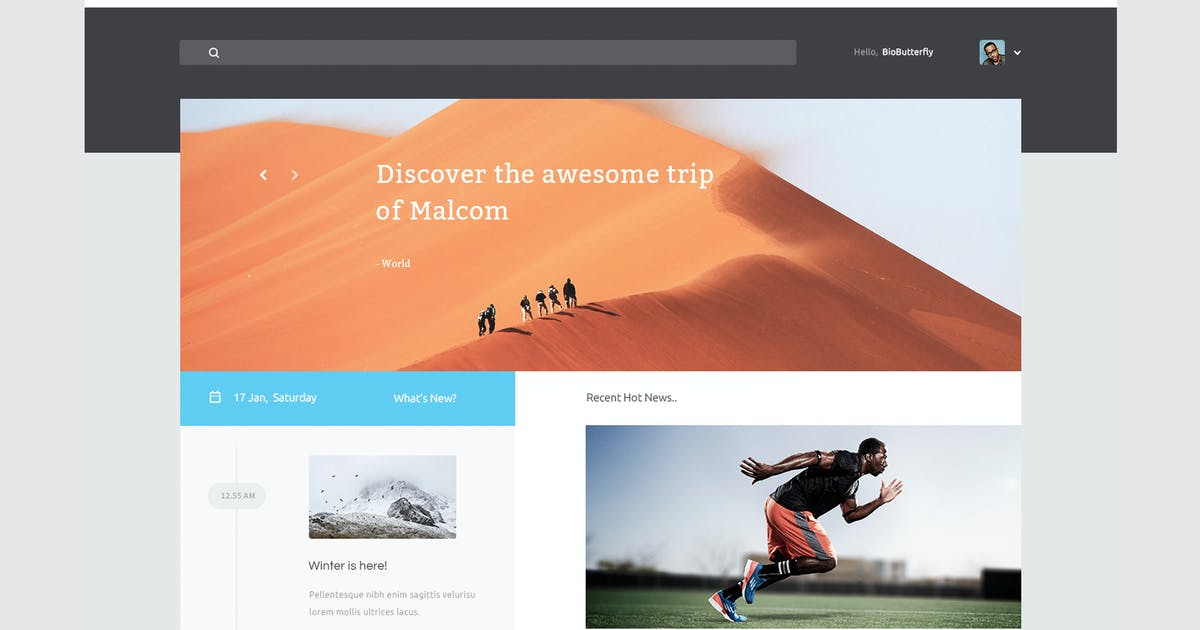 Download Voltov - Blog and Magzine HTML Template by xvelopers
