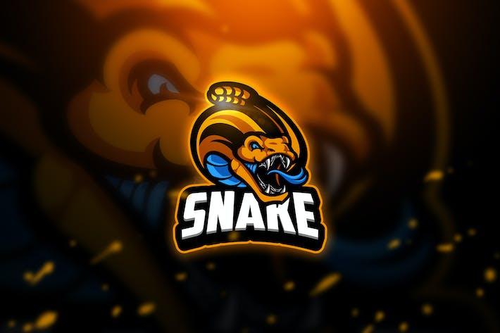 Thumbnail for Snake 3 - Mascot & Esport Logo