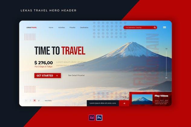 Lekas Travel | Hero Header