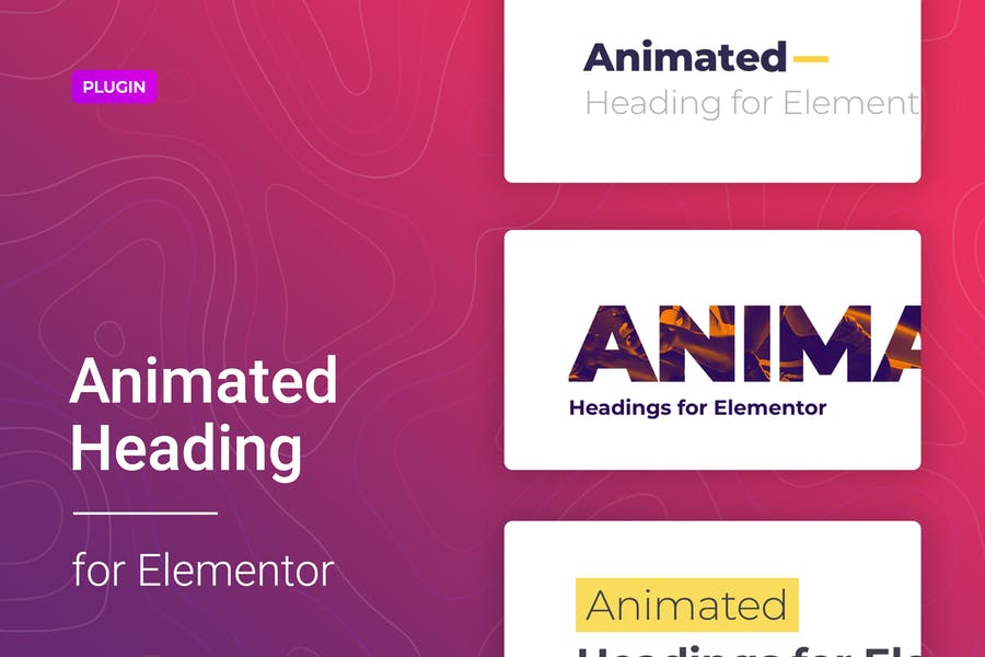 Animated Heading for Elementor