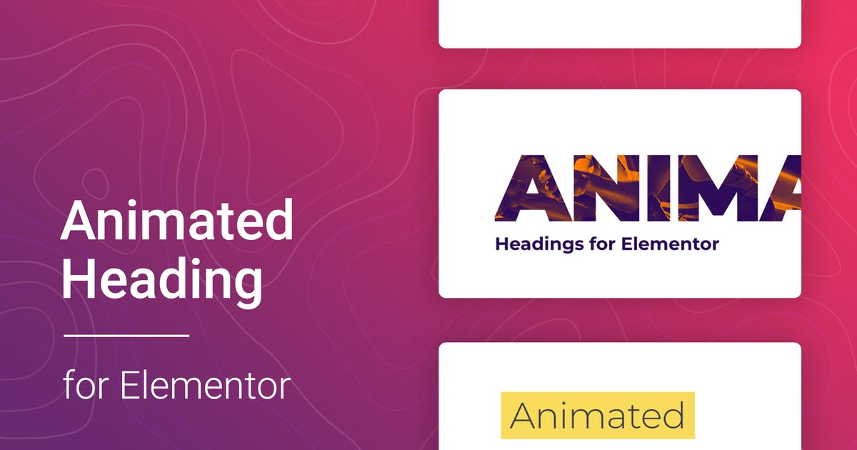Download Animated Heading for Elementor by merkulove