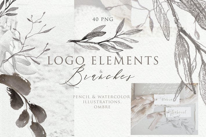 Thumbnail for BOTANICAL LOGO ELEMENTS vol.3