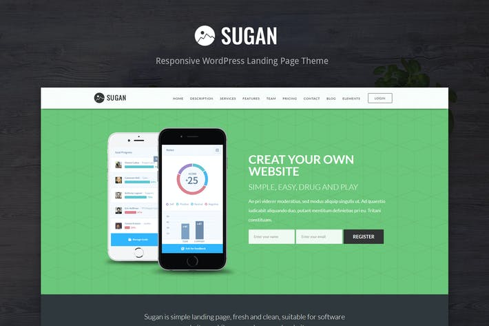 Thumbnail for Sugan - Software / Apps / Mobile WordPress Theme
