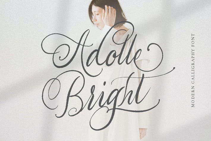 Thumbnail for Adolle Bright - Caligrafía moderna Signature Logo