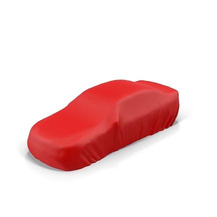 Rotes Autozelt