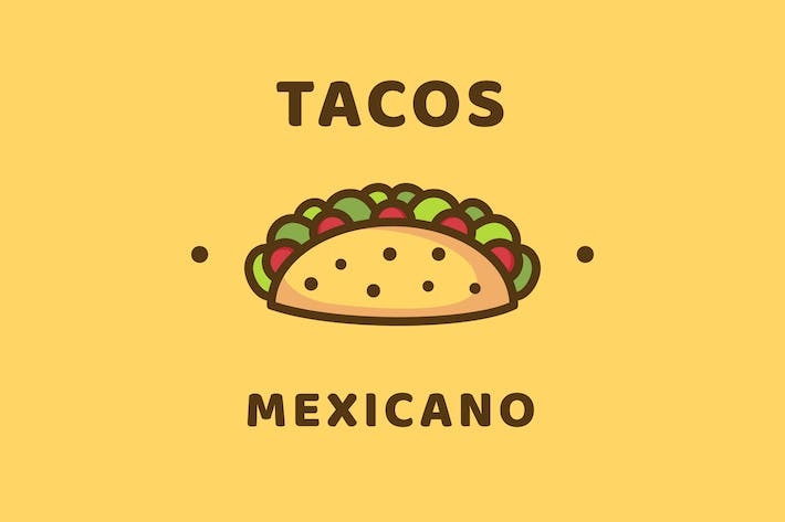 Thumbnail for Tacos - Logo Template