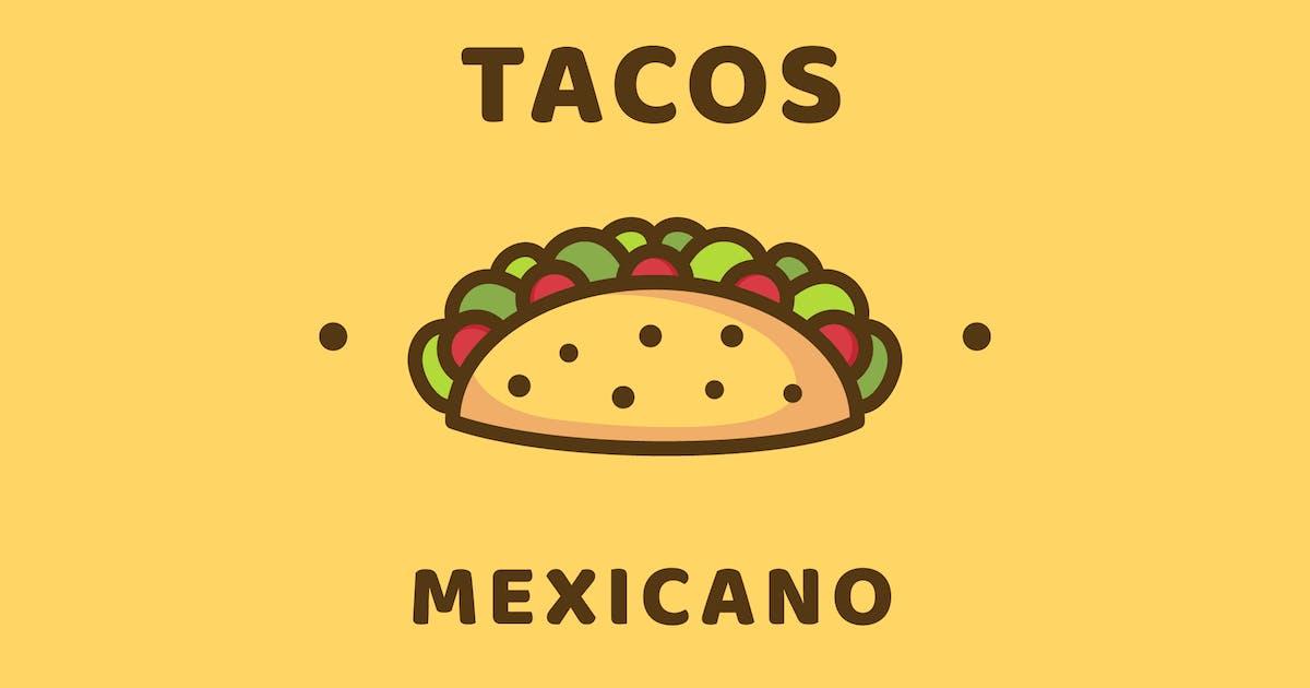 Download Tacos - Logo Template by deemakdaksinas